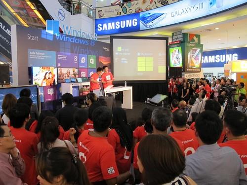 Windows 8 Launch Malaysia