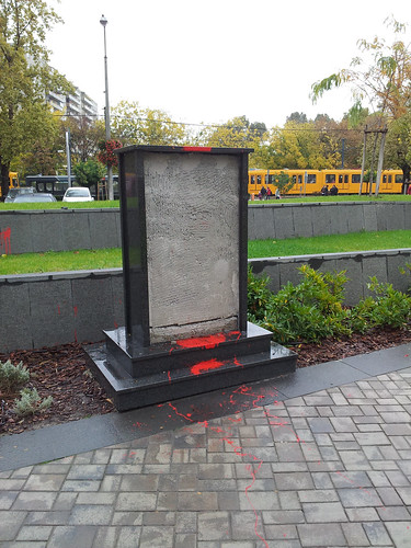 Atatürk ex-szobra Kispesten