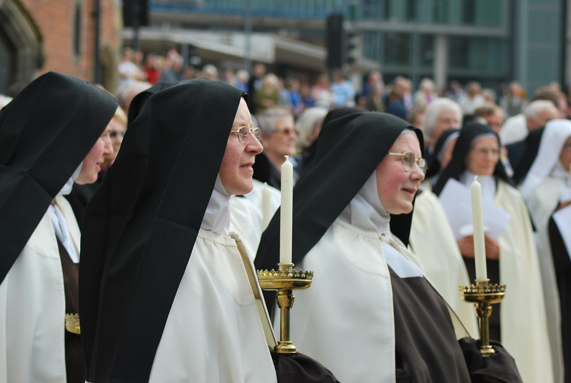 Nuns Await St. Therese