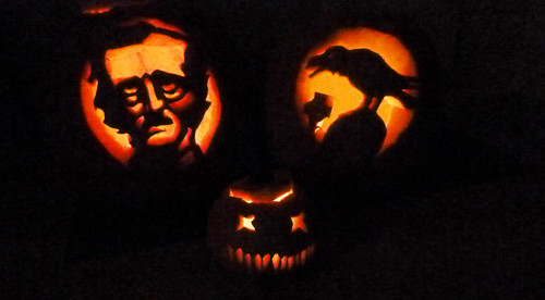 three 2012 pumpkins