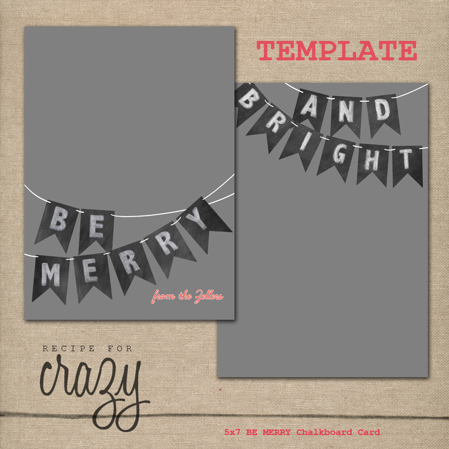 5x7-BE-MERRY-Chalkboard-Card-TEMPLATE