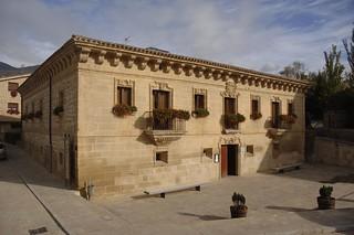El Palacio reconvertido en hotel y restaurante.