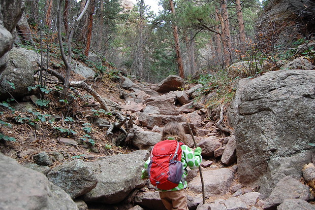 Rocky Path - Hiking at Gregory Canyon Amphitheatre, Boulder, CO
