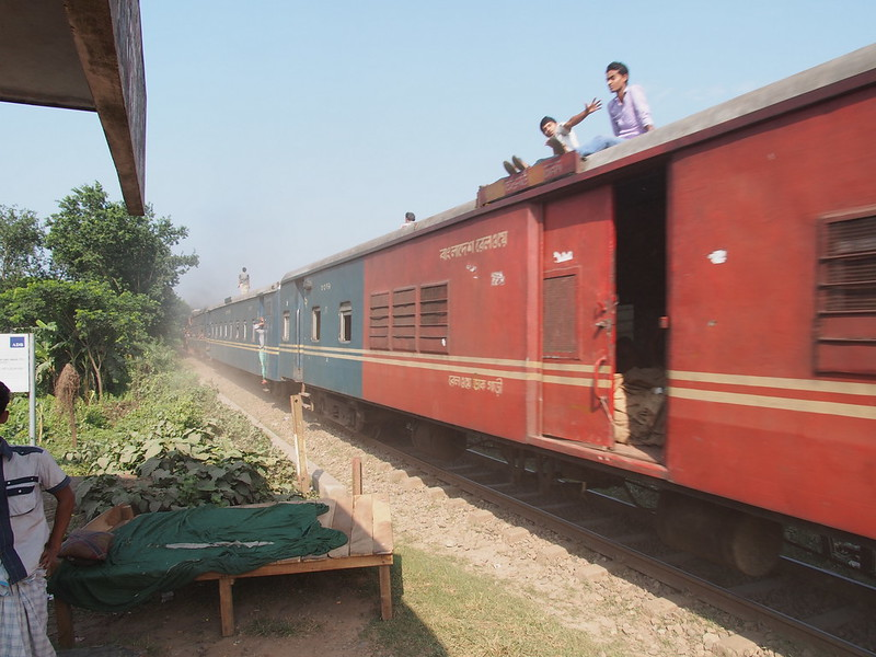Local Train in Bangladesh