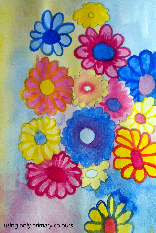 Watercolour Bliss~ Colour Theory