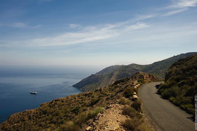 Road and Sea - Flickr CC Evgeniy Isaev
