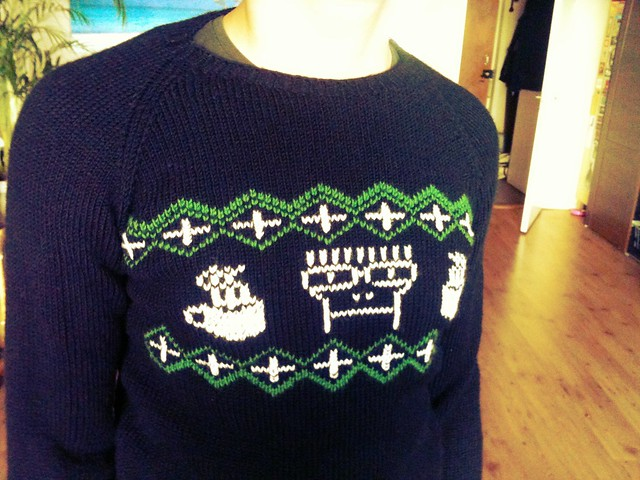 Descendents christmas sweater