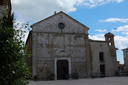 Magliano in Toscana: chiesa di San Giovanni Battista