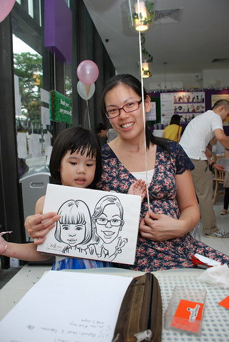 caricature live sketching for birthday party - 9