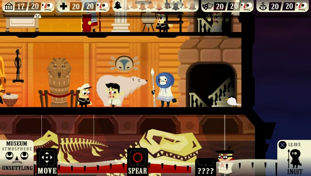 museum - Haunt the House: Terrortown for PlayStation Mobile