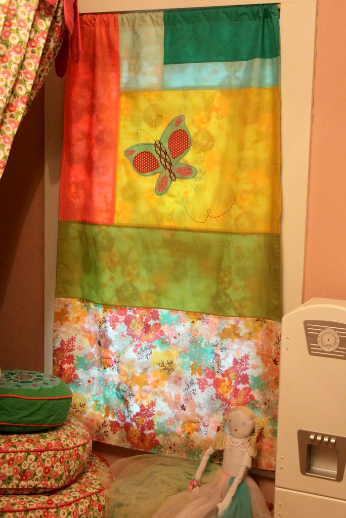 Butterfly Curtain