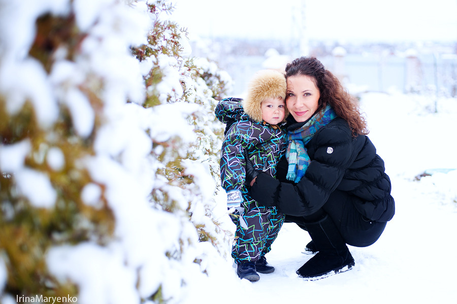 Малыш Даня. Фотограф Ирина Марьенко.