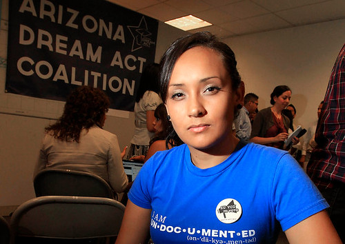 Erika Andiola, immigration activist, had her relatives arrested by the United States agents. A flurry of calls to the administration resulted in their release. by Pan-African News Wire File Photos