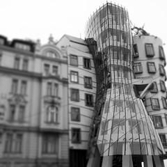 Frank Gehry's Dancing House, Prague.