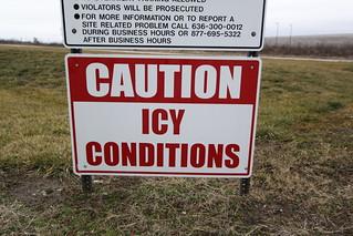 shitr icy cond
