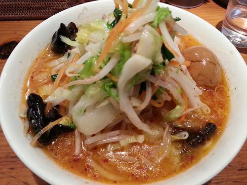 ra130115すずらん 味噌野菜麺 味玉