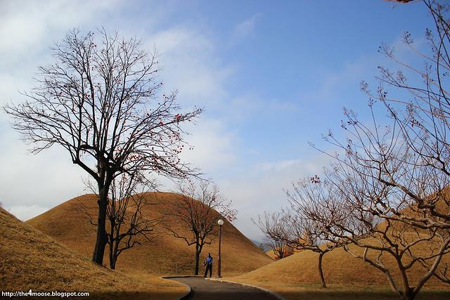 Gyeongju - Daereungwon Royal Tombs