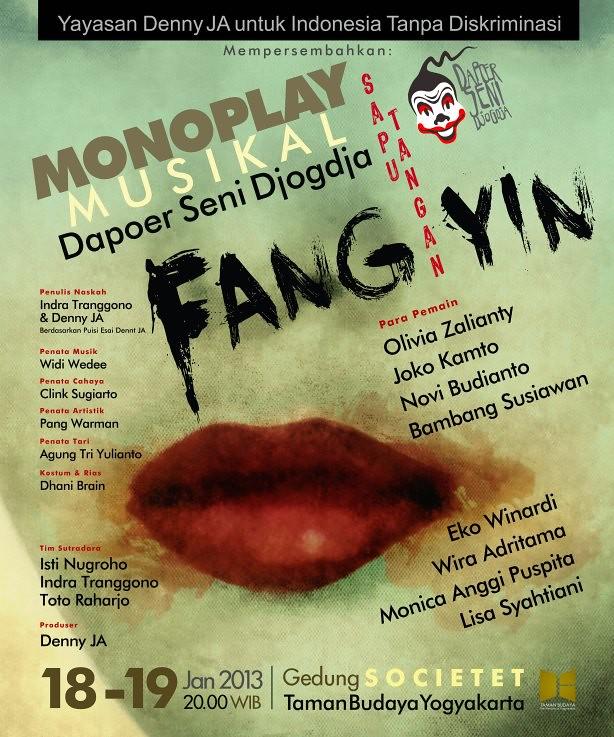 Pentas Teater Monoplay