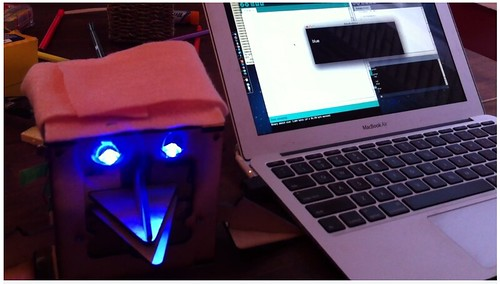 RoboBrrd and Voice Commands from @eightlines