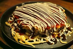 meal, spaghetti, food, icing, dish, dessert, cuisine, okonomiyaki,