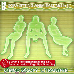 SOFA SITTING  anim ball