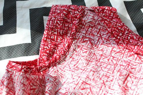 Washi dress lining