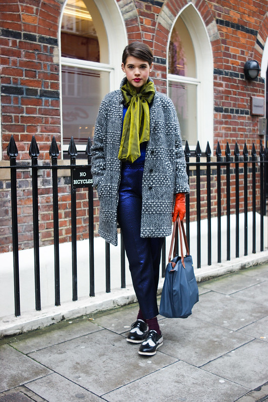 Street Style - Johanna, London Collections: Men