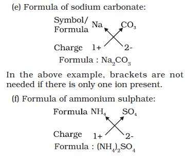 NCERT Class IX Science Chapter 3 Atoms and Molecules