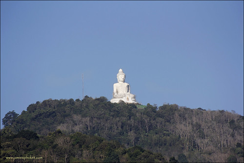 Phuket Big Buddha and Blue Sky