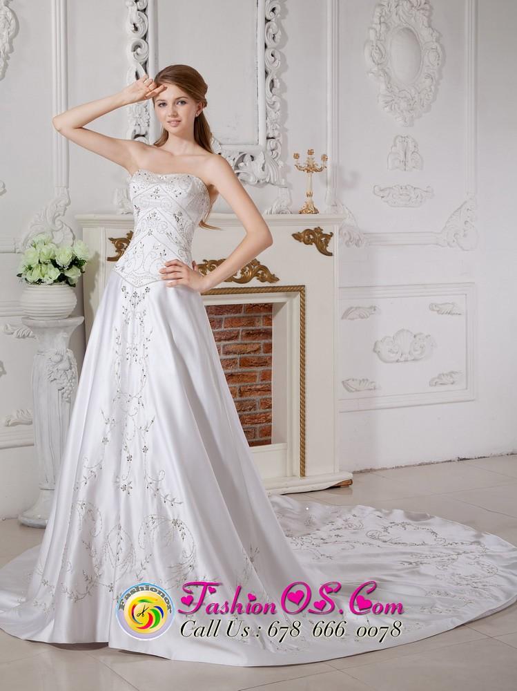 Troutdale Ohio Plus size Column bridal gowns | gorgeous brid… | Flickr
