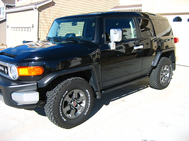 Stock TRD Special Edition FJ Cruiser
