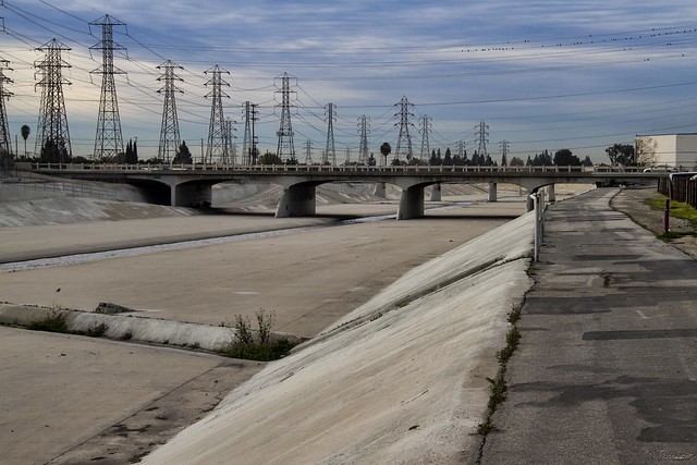 Rio San Gabriel Riverbed