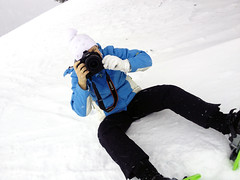 snow angel(0.0), snowboard(0.0), extreme sport(0.0), freezing(0.0), snowshoe(1.0), winter sport(1.0), footwear(1.0), winter(1.0), snow(1.0),