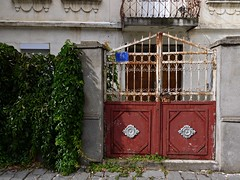 Rusty Gate, Old Town Ohrid, Macedonia