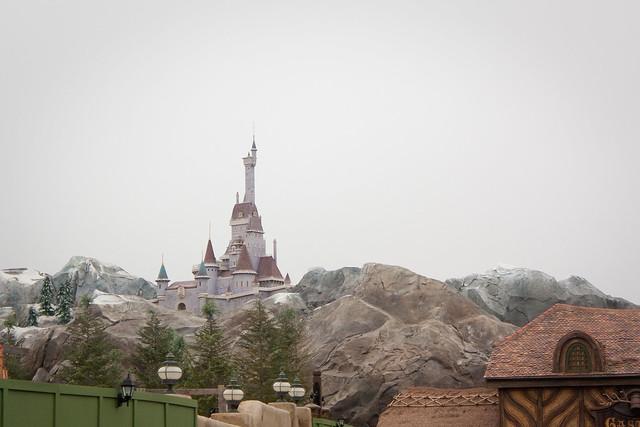 Walt Disney World Magic Kingdom New Fantasyland Belle's Castle