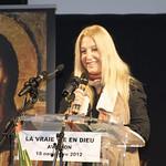 Vassula Ryden in France, 2012