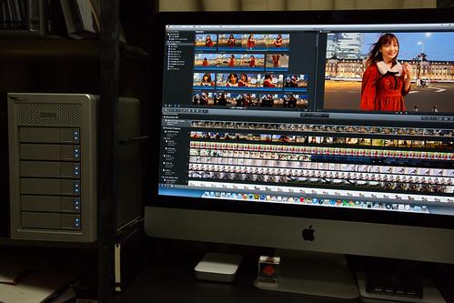 iMac with PegasusR6