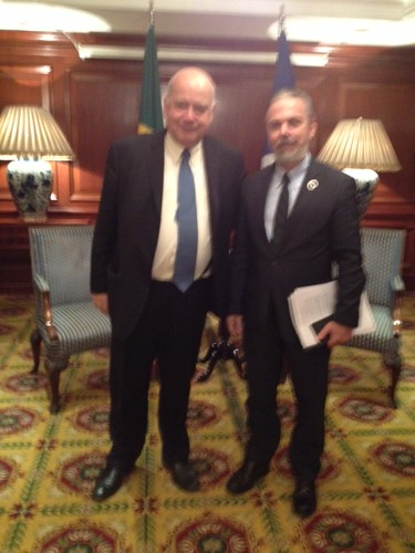 OAS Secretary General Meets with Foreign Minister of Brazil