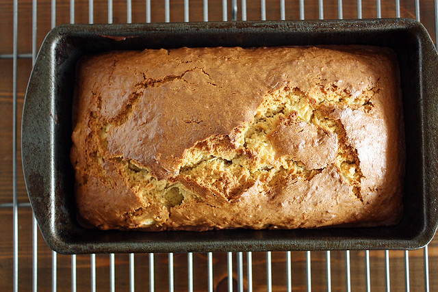 chai-spiced coconut pear bread. // Girl Versus Dough