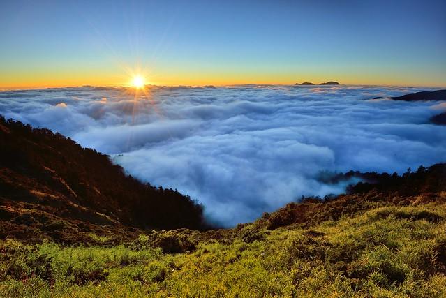 Sea of clouds, Mt. Hehuan @合歡雲海