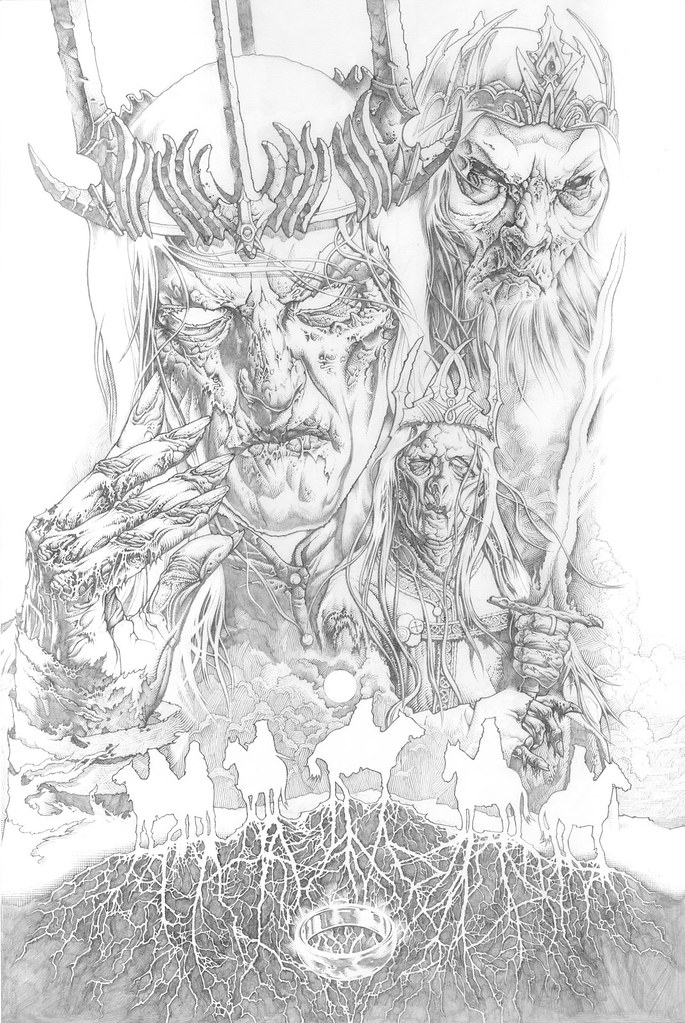 LOTR_NazgulKings_Pencil_WIP01