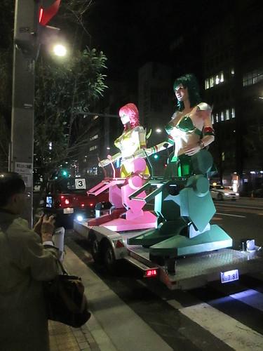 Womanbot, in Akihabara, Tokyo, Japan