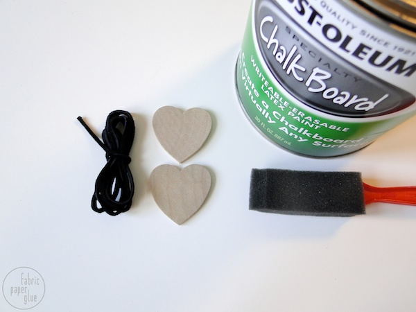 Wood Heart Napkin Ring - Supplies