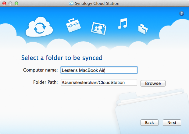 Cloud Station Client - Step 3