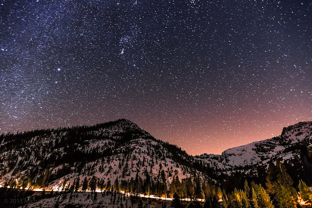 Night Sky Above Emerald Bay