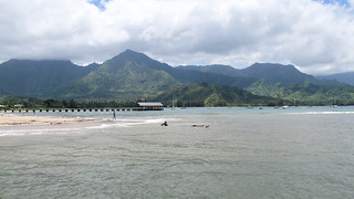 Een stukje Hanalei Bay