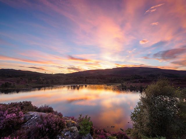 Loch na Ba Ruaidhe at Sunset - Yet Again!