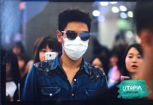 Big Bang - Gimpo Airport - 20may2015 - TOP - Utopia - 01
