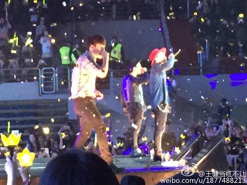 G-Dragon, Seung Ri & Tae Yang - V.I.P GATHERING in Harbin - 21mar2015 - 王健当红不让 - 05