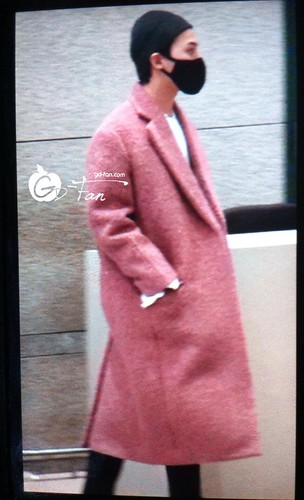 Big Bang - Incheon Airport - 22mar2015 - G-Dragon - GD Fan - 01